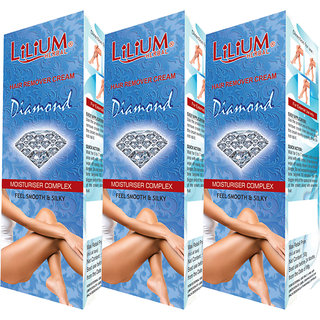 Lilium Diamond Hair Removal Cream 50g Pack of 3