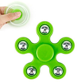 Oricum Fidget Spinner-11 Bearing Ultra Speed 5-Spinner Hand Spin Toy-Green Wing Bearings