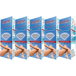 Lilium Diamond Hair Removal Cream 50g Pack of 5