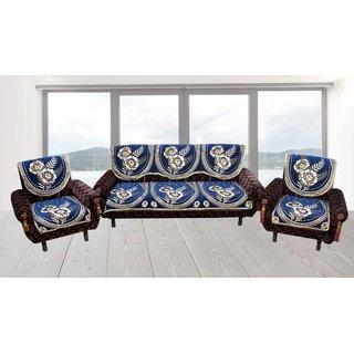Furnishing Zone Elegent  Velvet  5  Seater Sofa  Cover  FZSCS009