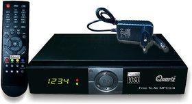Quartz HD MPEG-4 PVR (Free to Air) Digital Satellite Receiver (DTH Set-Top Box)