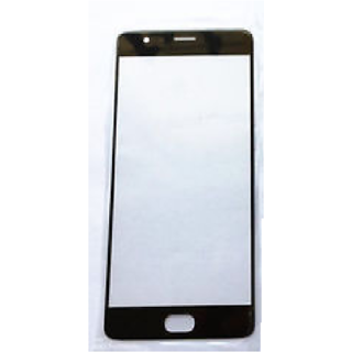 New Outer Front Touch Screen Glass Lens for OnePlus Three 1+3 (Black)