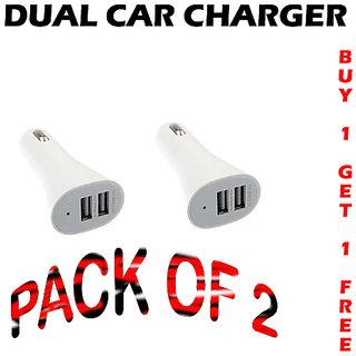 Combo Of  2 MICRO USB CAR CHARGER Codeta-1473