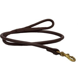 Petshop7 High Quality Genuine Leather Dog Leash  Strong  Durable Dog leash Rope - Large