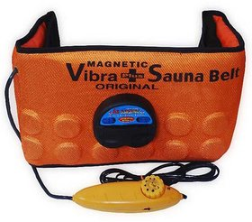 Sauna Slimming Belt 3 in 1 Magnetic Vibration Heating ,Vibrating Magnetic Slimming Belt Adjestable StyleCode-X2