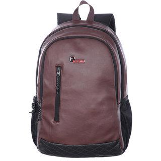 F Gear Bi Frost Executive 28 Liter Laptop Backpack (Brown) Bag