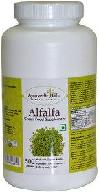 Ayurvedic Life Alfalfa 500 Tablets