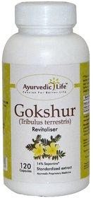 Ayurvedic Life Gokshur 120 capsules
