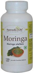 Ayurvedic Life Moringa 120 Tablets