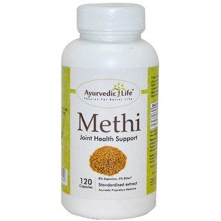 Ayurvedic Life Methi 120 capsules