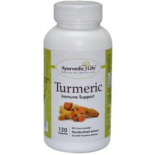 Ayurvedic Life Turmeric 120 capsules