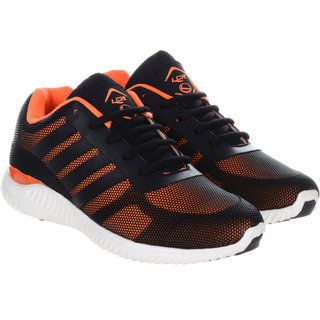 Lancer Men's Black & Orange Running Shoes