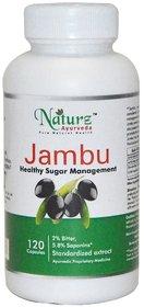 Naturz Ayurveda Jambu 120 capsules