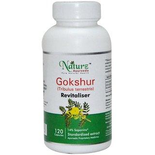 Naturz Ayurveda Gokshur 120 capsules