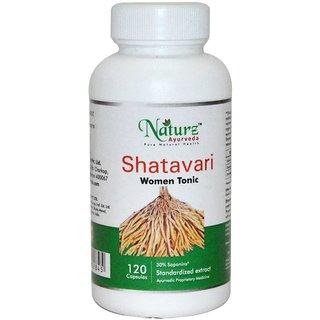 Naturz Ayurveda Shatavari 120 capsules