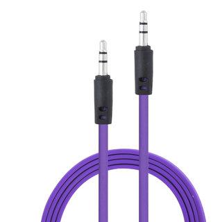 Alpha AP01 1mtr AUX Cable (Purple)