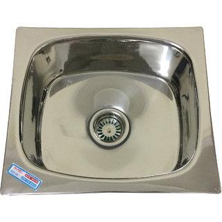 MLPK Kitchen Sink Single Bowl (18x16x8) inches
