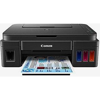 Canon Pixma G 2000 Inkjet Printer (Black) with free wonder box