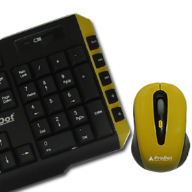 Prodot Trendy Multimedia Wireless Keyboard And Mouse Co