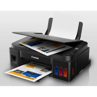Canon PIXMA G2010 New Multi-function Printer (Black) with Free Wonder Box