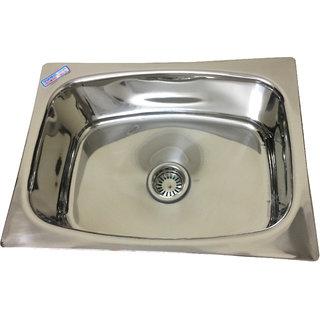 MLPK Kitchen Sink Single Bowl (24x18x9) inches