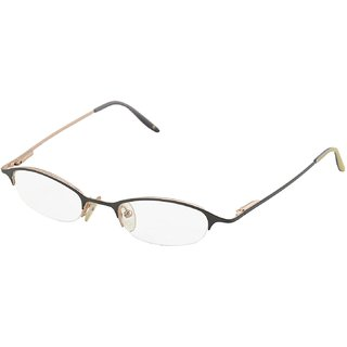 affable Semi-Rimless Oval Unisex Spectacle Frame - A172 44 mm