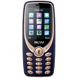 Inovu A9 (Dual Sim, 2.4 Inch Display, 1200 Mah Battery, Blue-Gold)