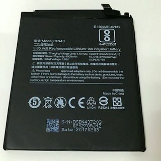 1M Redmi BN43 Compatible Battery for Redmi Note 4 Mobile with 4000MAH