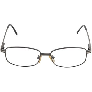 affable Rimmed Rectangular Unisex Spectacle Frame - A170-es002-grey 50 mm