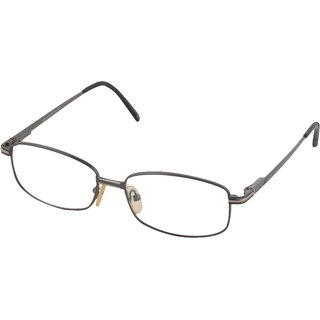 affable Rimmed Rectangular Unisex Spectacle Frame - A170-es002 50 mm