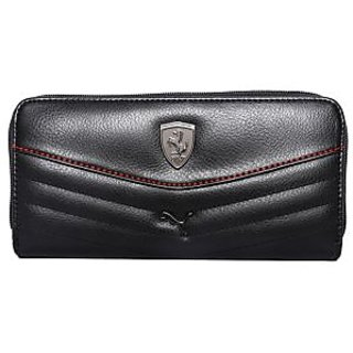 Puma New Black Clutch Wallet For Women's