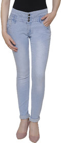 NJs Ice Blue Woman Skinny Jeans