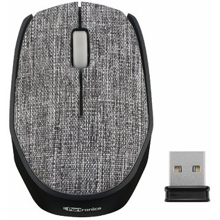 Portronics POR-829 Fabrik Wireless Mouse Designed To Operate at 2.4GHz Technology Connected With the any PCs, Laptops or