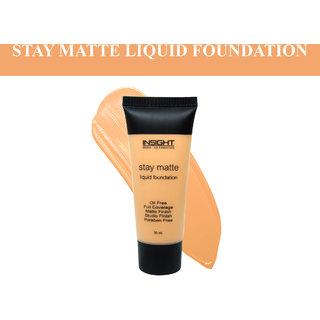 Insight Golden Amber STAY MATTE LIQUID FOUNDATION-30ml
