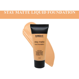 Insight Rose Beige STAY MATTE LIQUID FOUNDATION-30ml