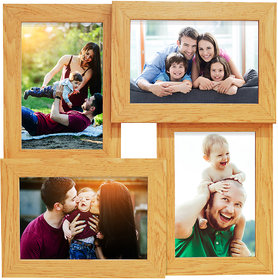 Story@Home Premium Wall Hanging Collage Wooden Photo Frame (12