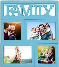 Story@Home Premium Home Plastic Collage Photo Frame (12