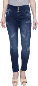 NJs Greenish Woman Skinny Jeans