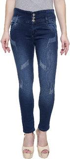 NJs Greenish Woman Skinny Jeans