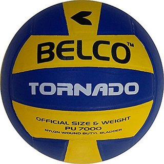 Belco Tornado Top Quality Pu Pasted Volleyball