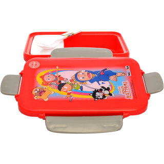 Nayasa nutri lunch box red - Set of 2