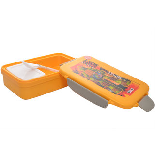 Nayasa nutri lunch box orange - set of 2