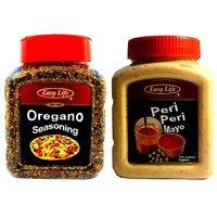 Easy Life Peri Peri Mayo 475gm + Oregano Seasoning 250gm Combo