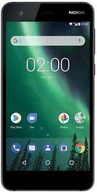 Nokia 2 (1 GB, 8 GB, Pewter Black)