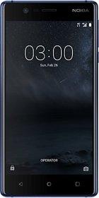 Nokia 3 (2 GB, 16 GB, Tempered Blue)
