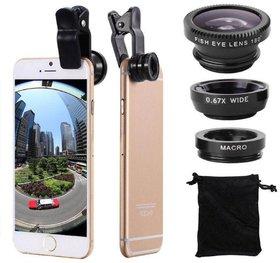 Shutterbugs 3-In-1 Camera Lens Kit For Smartphones