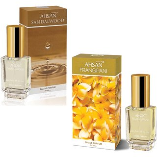 Ahsan Sandal and Ahsan  Fragipani (30 ml)