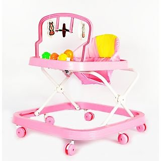 bajaj Baby Walker - Height Adjustable Soft Cushion