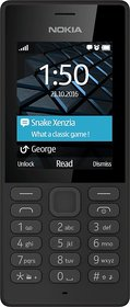 Nokia 150 Dual Sim Mobile Phone - Black Color  - Latest