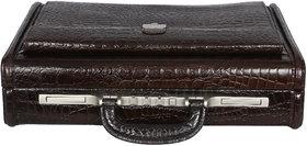 OBANI Genuine Leather Secret Briefcase Office Bag